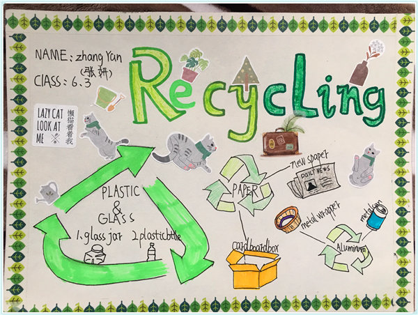 IU Courses: Recycling and Environment Protection(Year Six) POSTERS