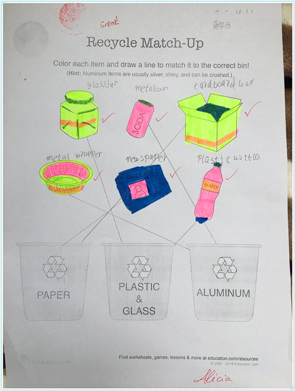 IU Courses: Recycling and Environment Protection(Year Six)1