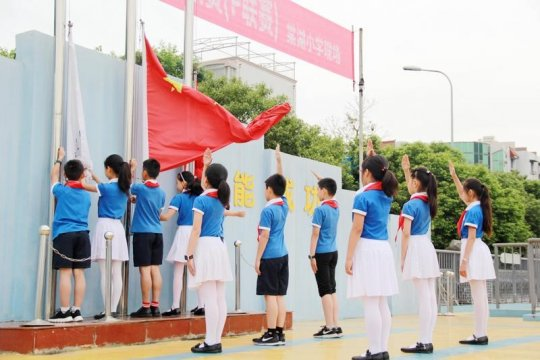 Gratitude Mother in May Day---the 14th Week of Flag-raising Ceremony of Tanghu Primary School
